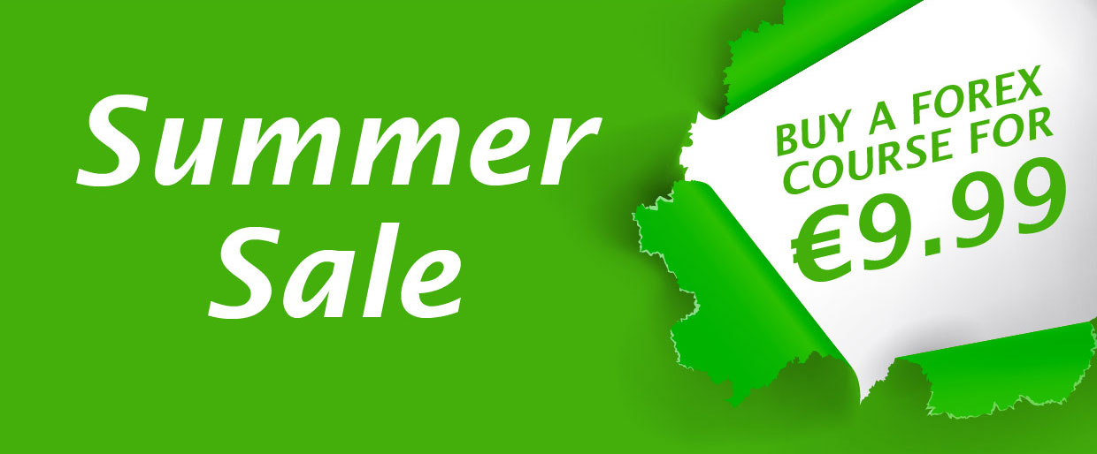 Summer sale - buy a Forex course for 9.99 EUR