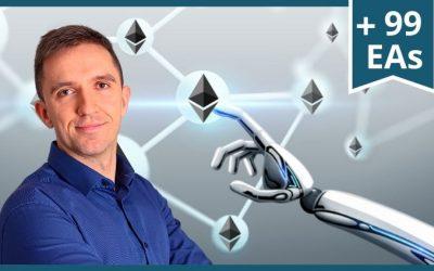 Curso de Trading con Ethereum + 99 Robots de Forex – Expert Advisor EAs – Trading Algoritmico