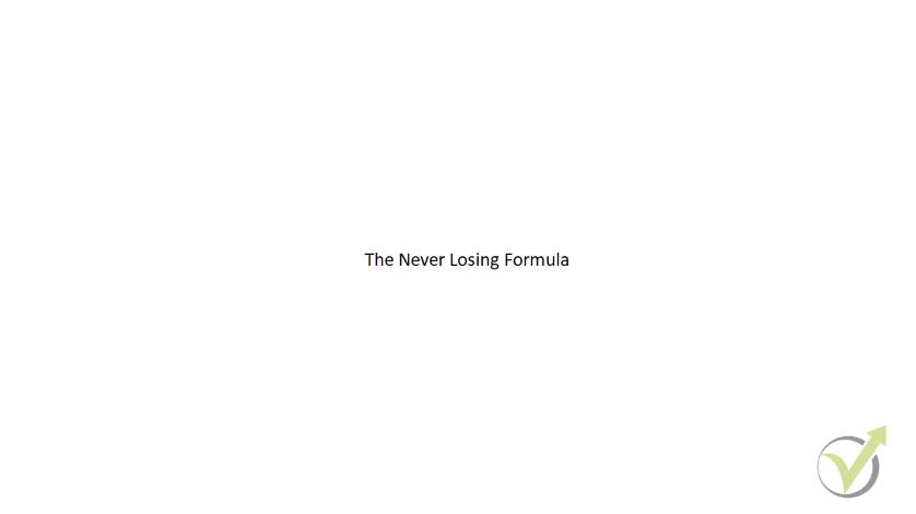 Crypto trading – the idea in Never Losing Formula