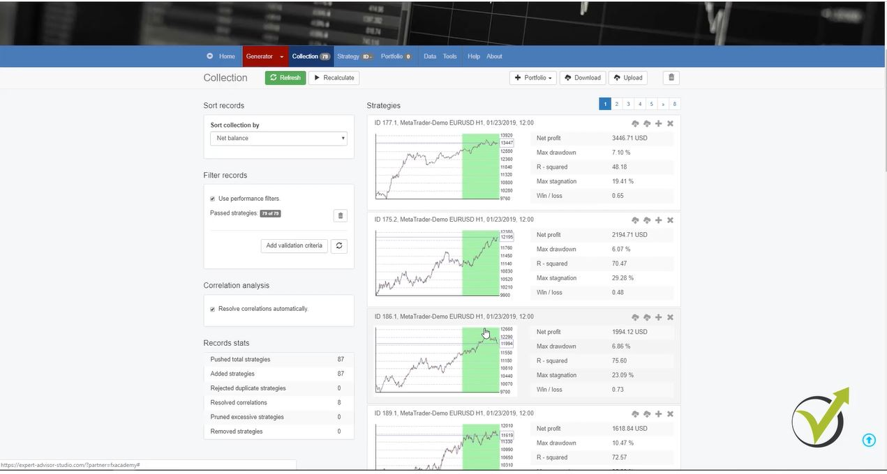 Forex ea builder online