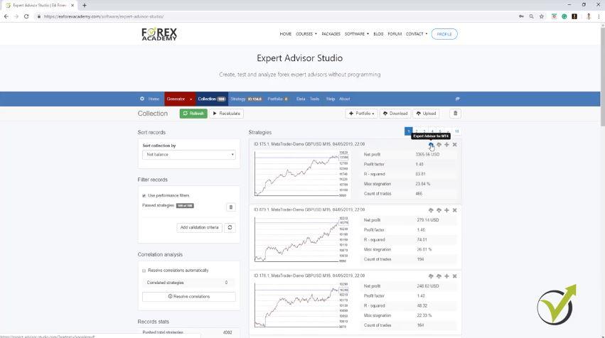 Forex expert advisor builder