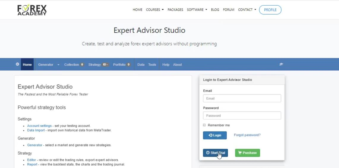 Gold Expert Advisor for trading