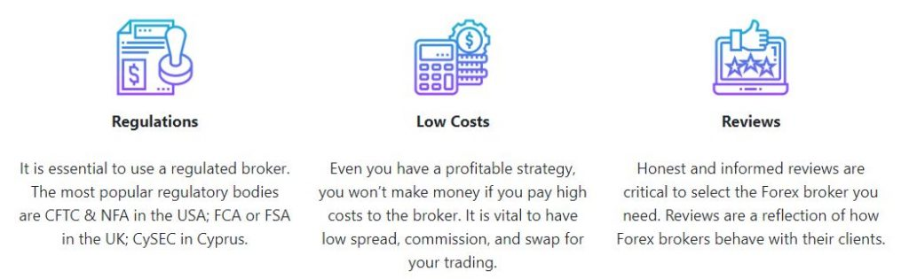 Forex Brokers Features