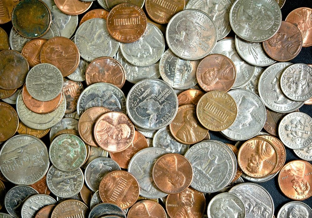 不同的硬币