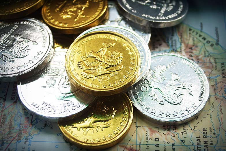 Currency exchange example