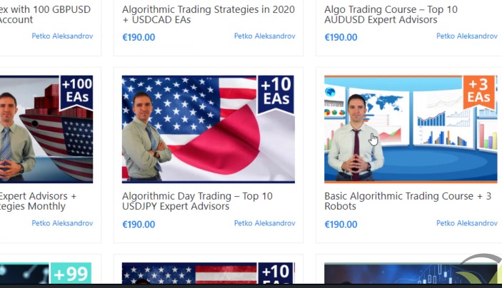 basic algo trading course