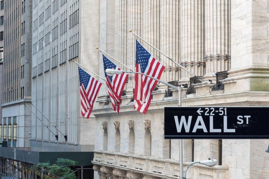 Wall Street Stock Trading Exchange