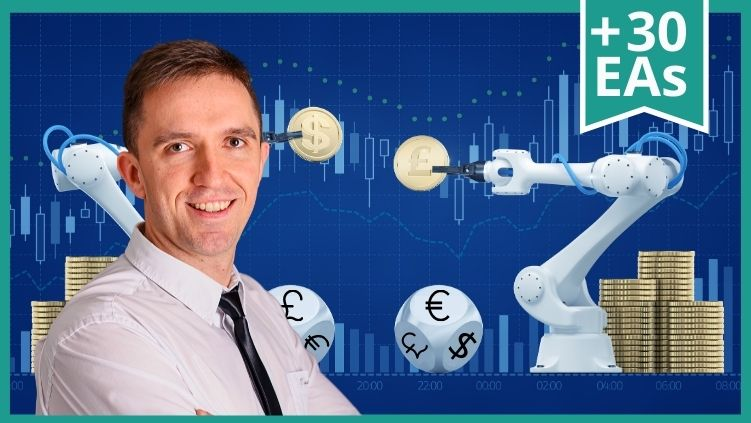 Forex Trading with Expert Advisors + 30 Best Strategies (Every Month)