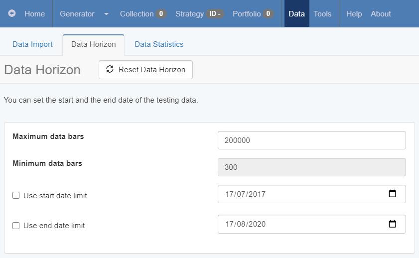 data horizon