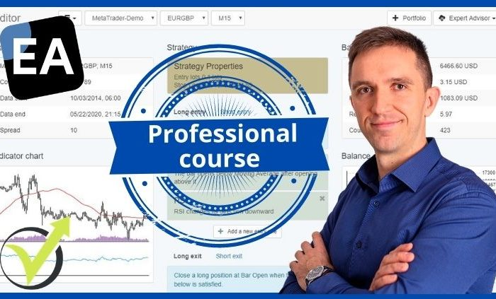 Curso Profesional de Expert Advisor Studio