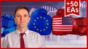 顶级EA外汇:10大欧元兑美元EA交易