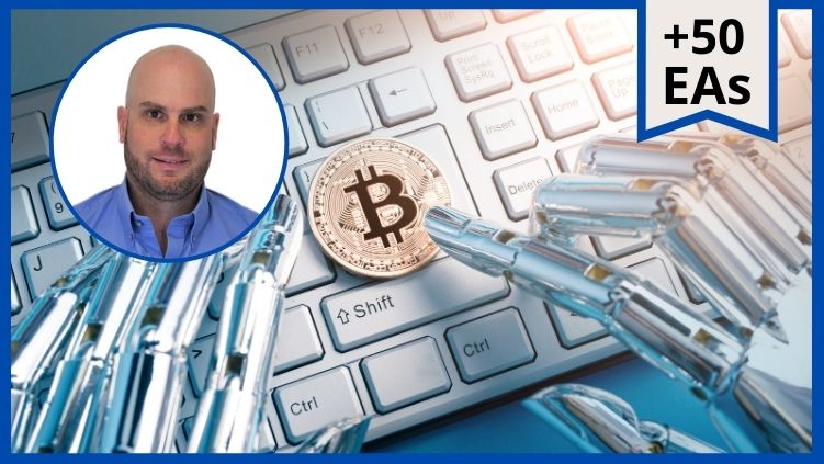 [NEW] Cryptocurrency Algorithmic Trading + 50 Robots Monthly