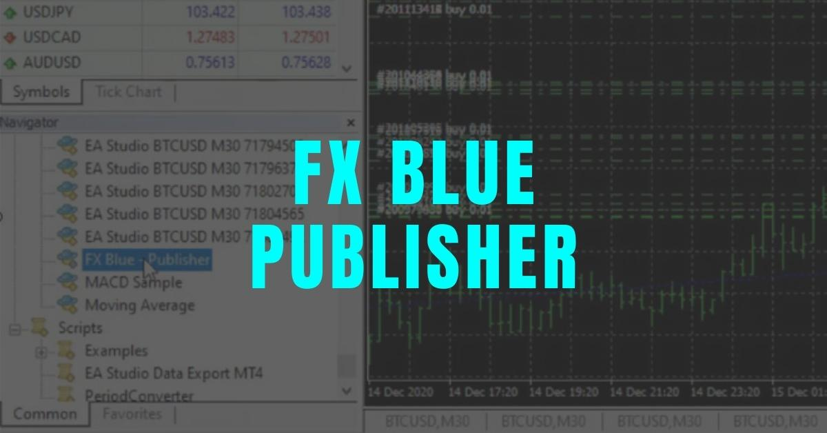 FB Blue Publisher for MT4 Guide