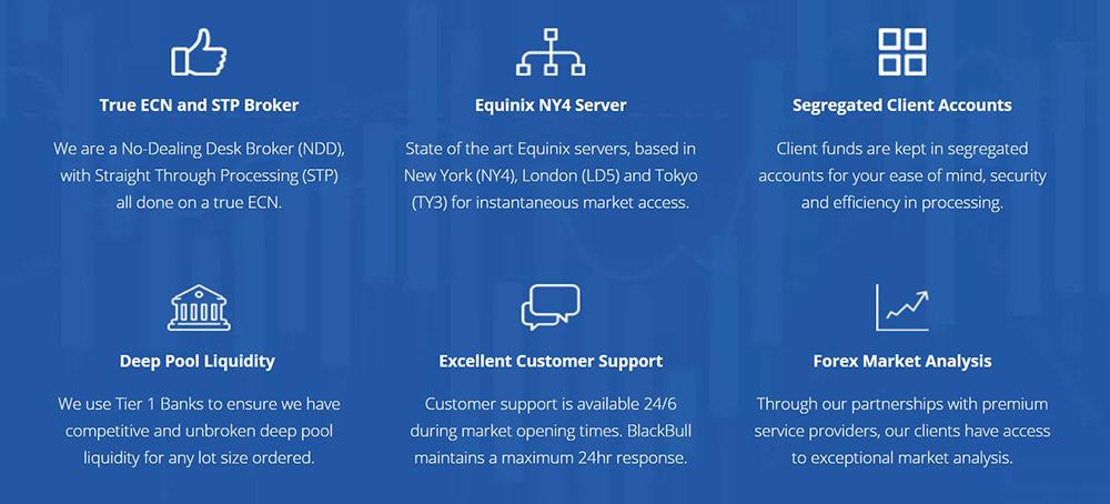 BlackBull Markets Services