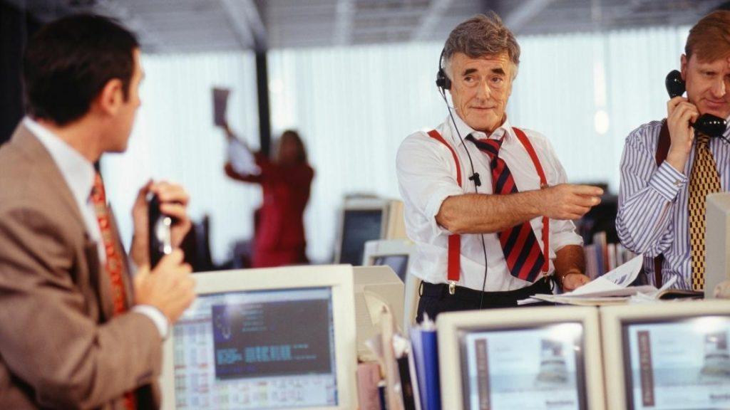 brokers making phone calls