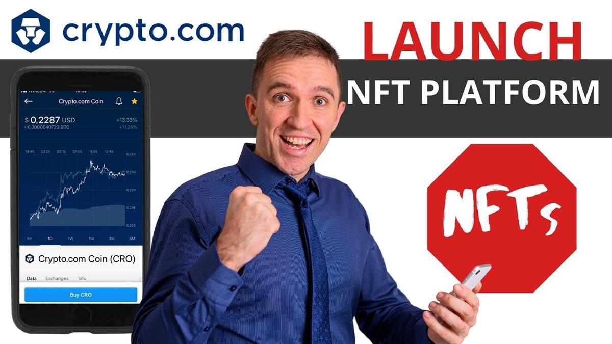 Crypto.com NFT platform launch