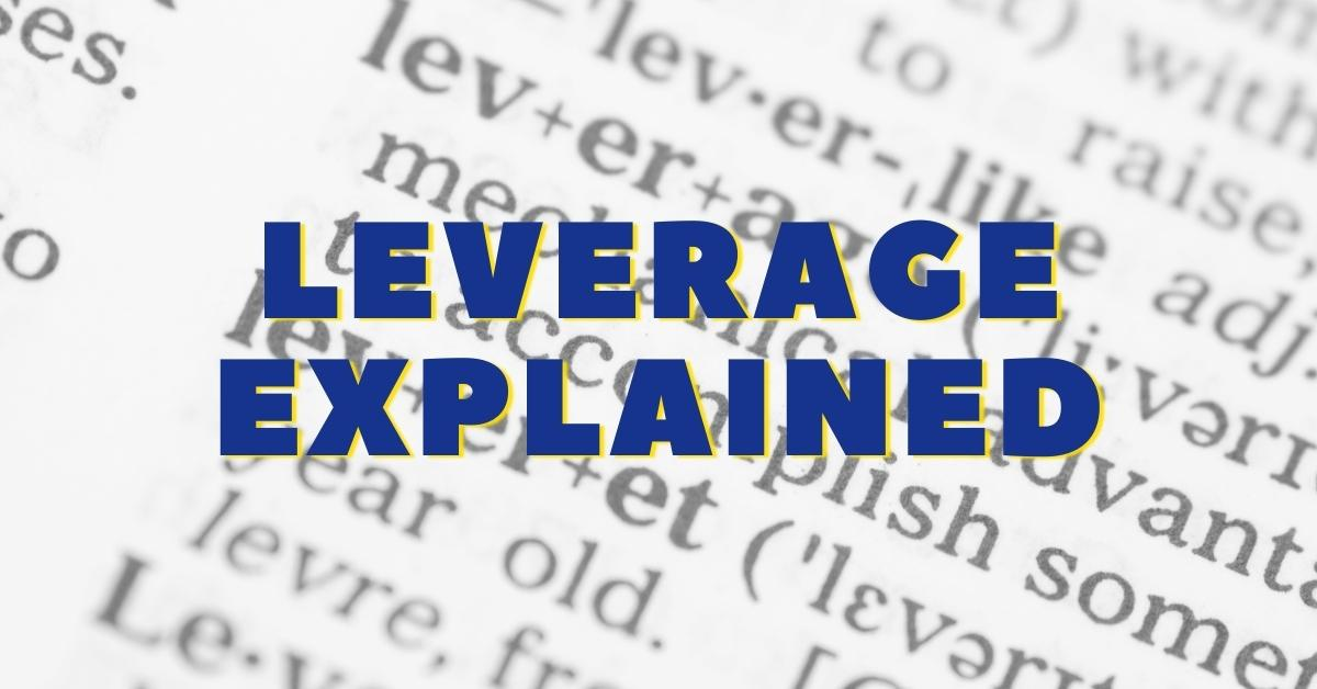 leverage meaning explained