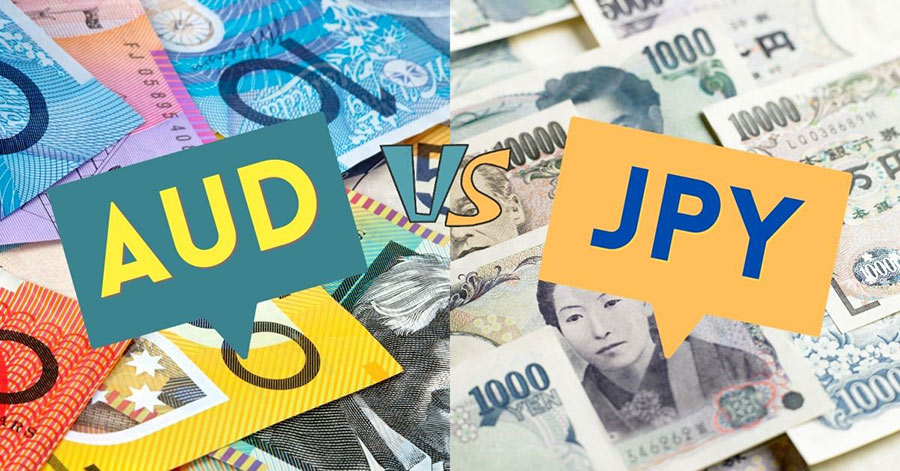 The most volatile Forex currency pairs AUDJPY