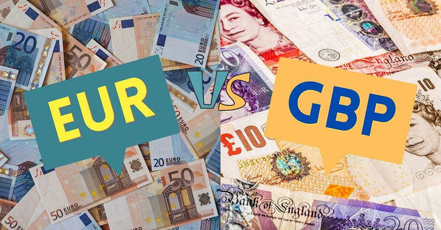 The most volatile Forex currency pairs EURGBP