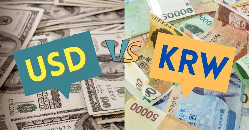 The most volatile Forex currency pairs USDKRW