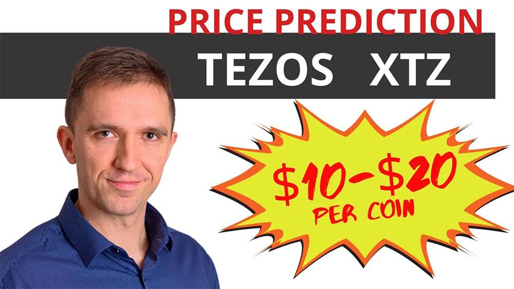 Tezos coin price prediction in 2021