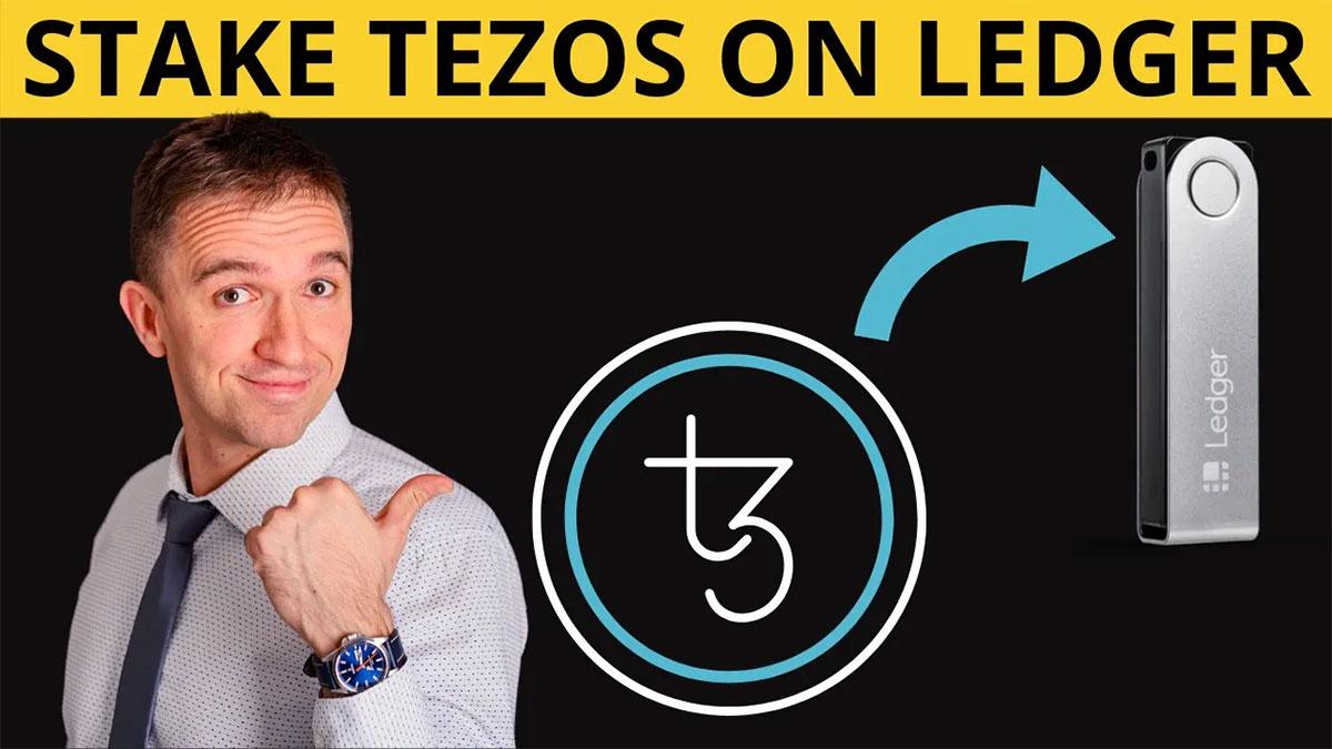 staking Tezos with Ledger Nano