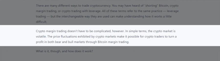 How Crypto margin trading works