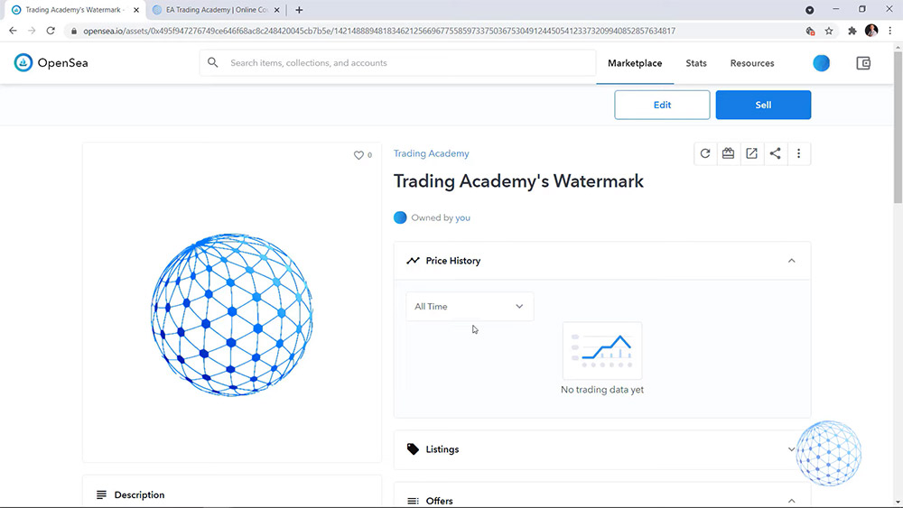 The NFT art of Trading Academy